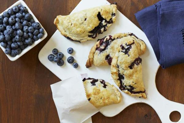 Blueberry Pocket Pies