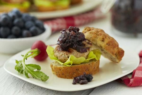 Blueberry Bacon Chutney