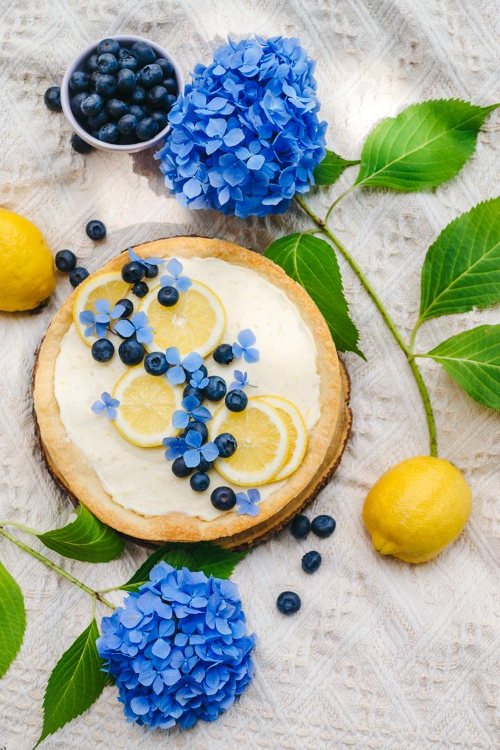 Lemon Blueberry Cheese Tart photo
