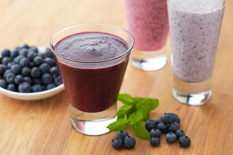 Blue Cranberry Smoothie